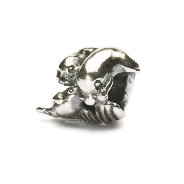 Trollbeads Seal Family Bead