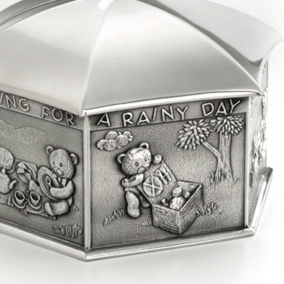 Royal Selangor Rainy Day Coin Box