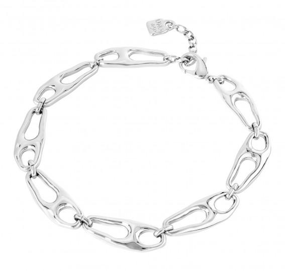 UNO de 50 CONNECTED Necklace - Silver