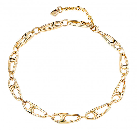Uno de 50 BE THE ONLY ONE Necklace - Gold