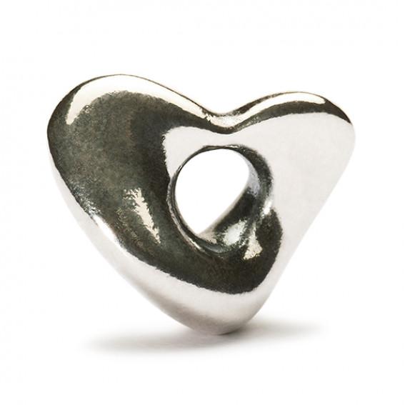 Trollbeads Soft Heart Bead