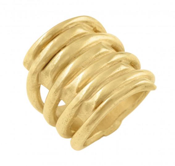 UNO de 50 TORNADO Ring - Gold
