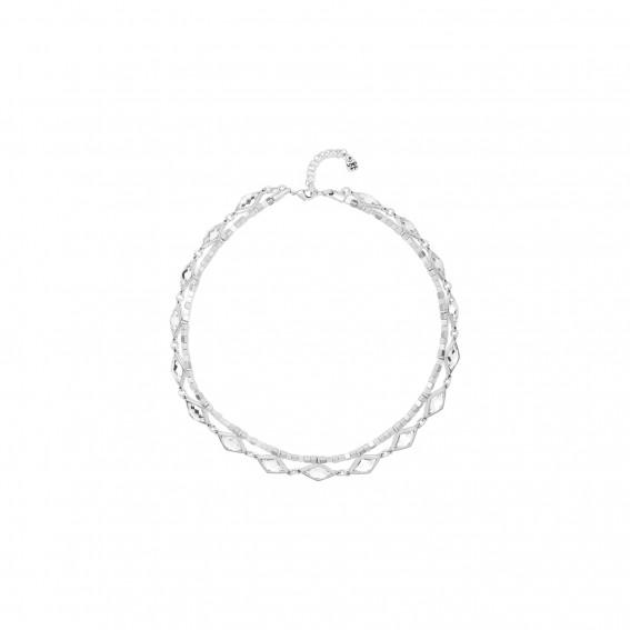 UNO de 50 WHITE MAGIC Necklace - Silver
